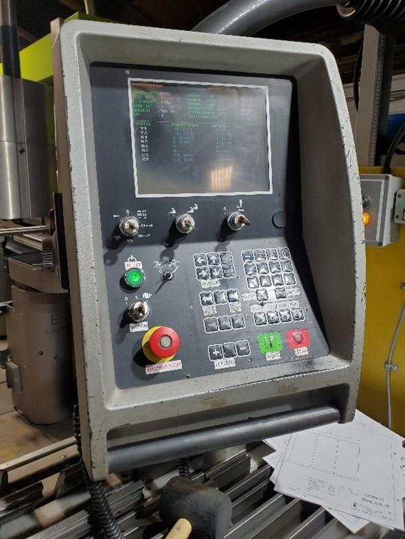 2000 Amada HFE1304, 13' x 143 Ton, 5 Axis CNC Hydraulic Press Brake