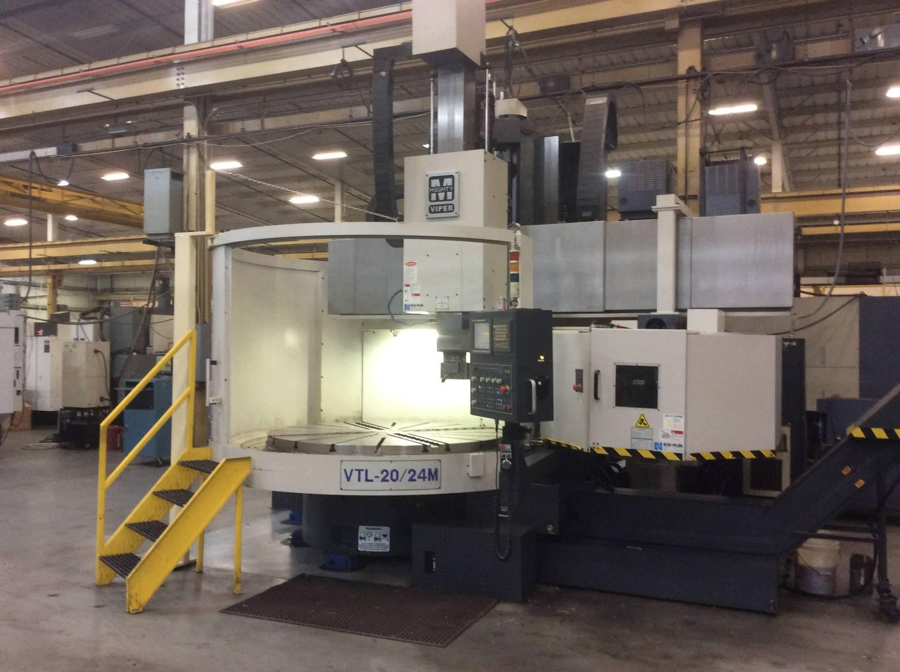 Mighty Viper VTL-20/24M CNC Vertical Lathe