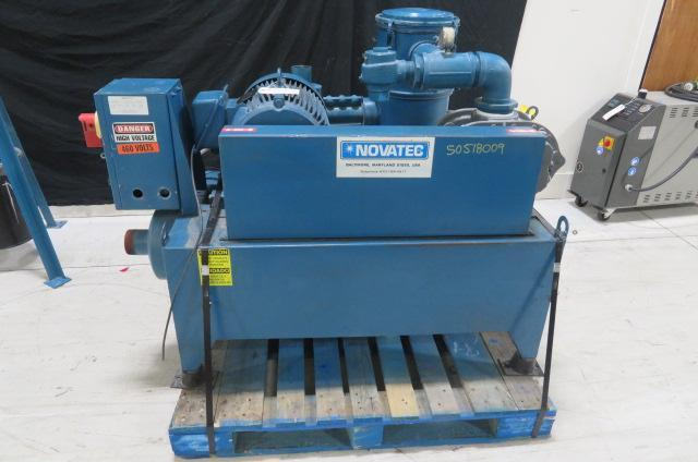 Novatec Used VPU-15HP Vacuum Loader & Filter 15hp, 460V, Yr. 2006