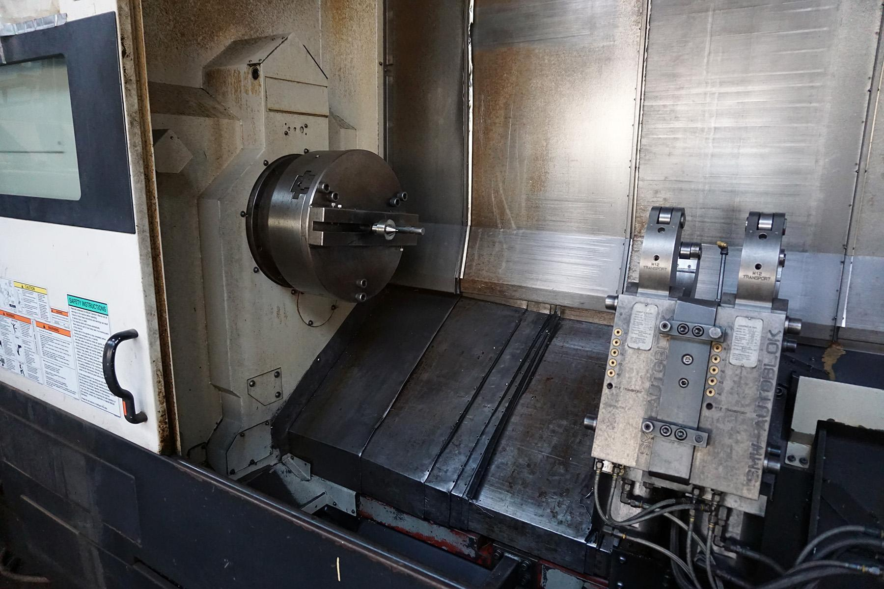 USED, MAZAK CYBERTECH TURN4500M WITH LIVE TOOLING