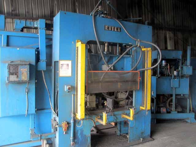 25 Ton Eitel ASP-25 Straightening Press