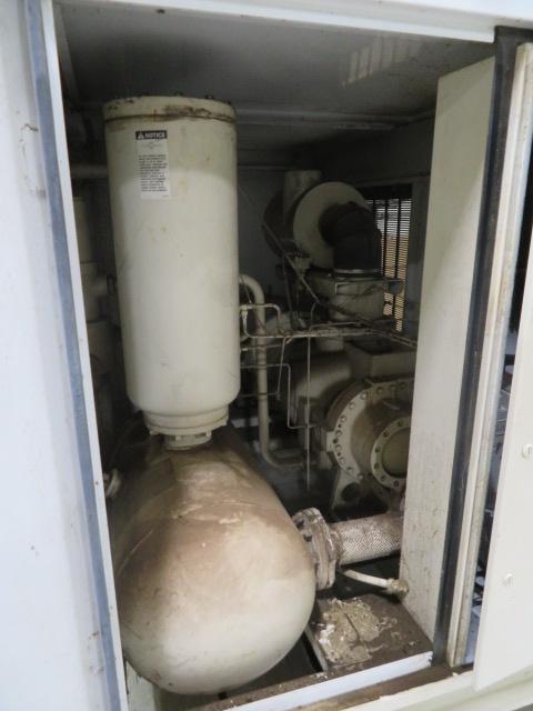 Gardner Denver Used Electra Saver Rotary Screw Compressor, 460V, 150hp