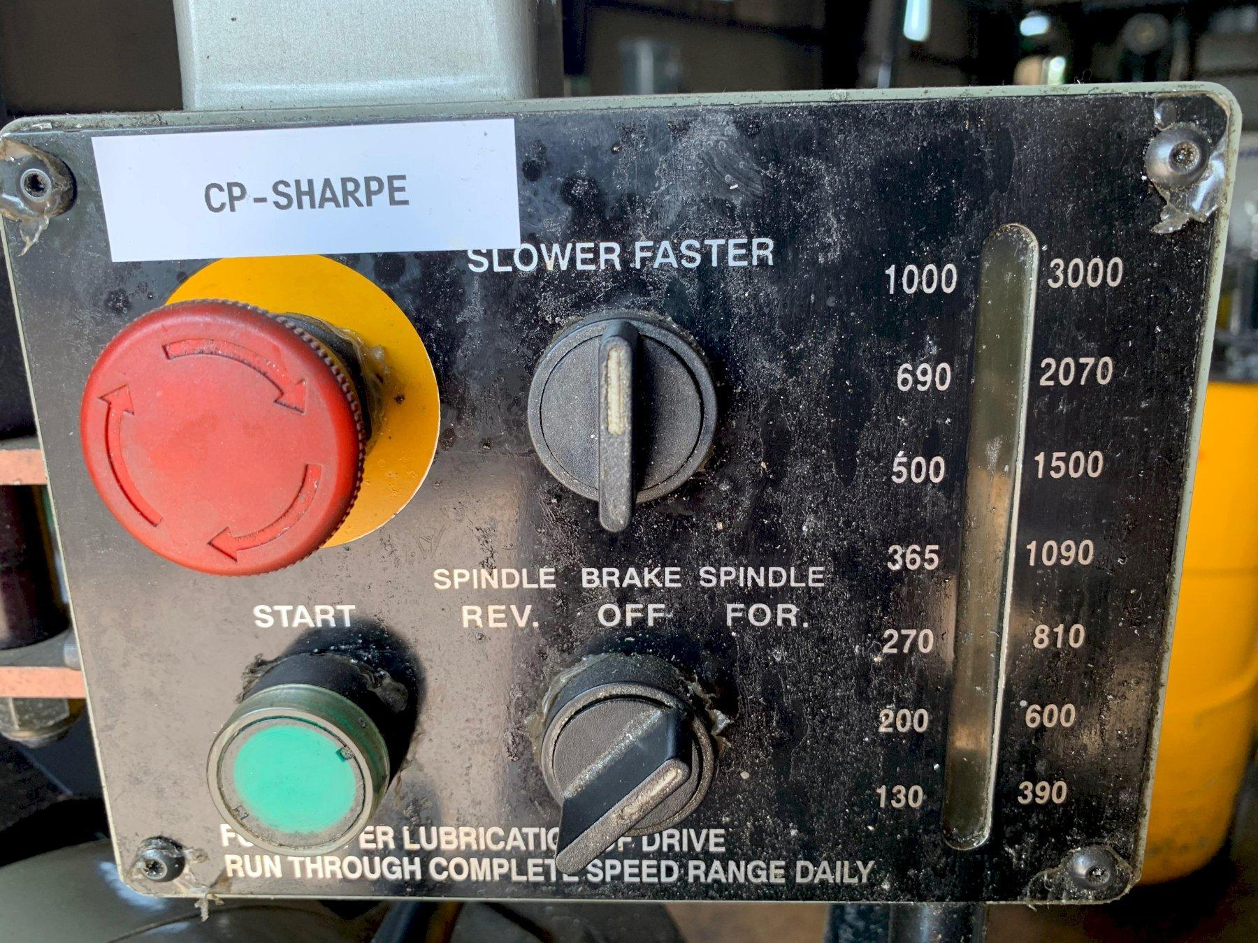 Sharp 1118H Precision Toolroom Lathe