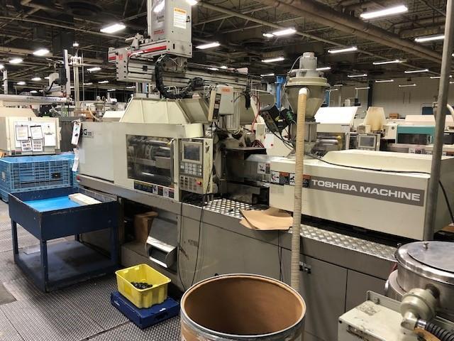 Toshiba Used ISG120N Injection Molding Machine, 8.1 oz, Yr. 1998