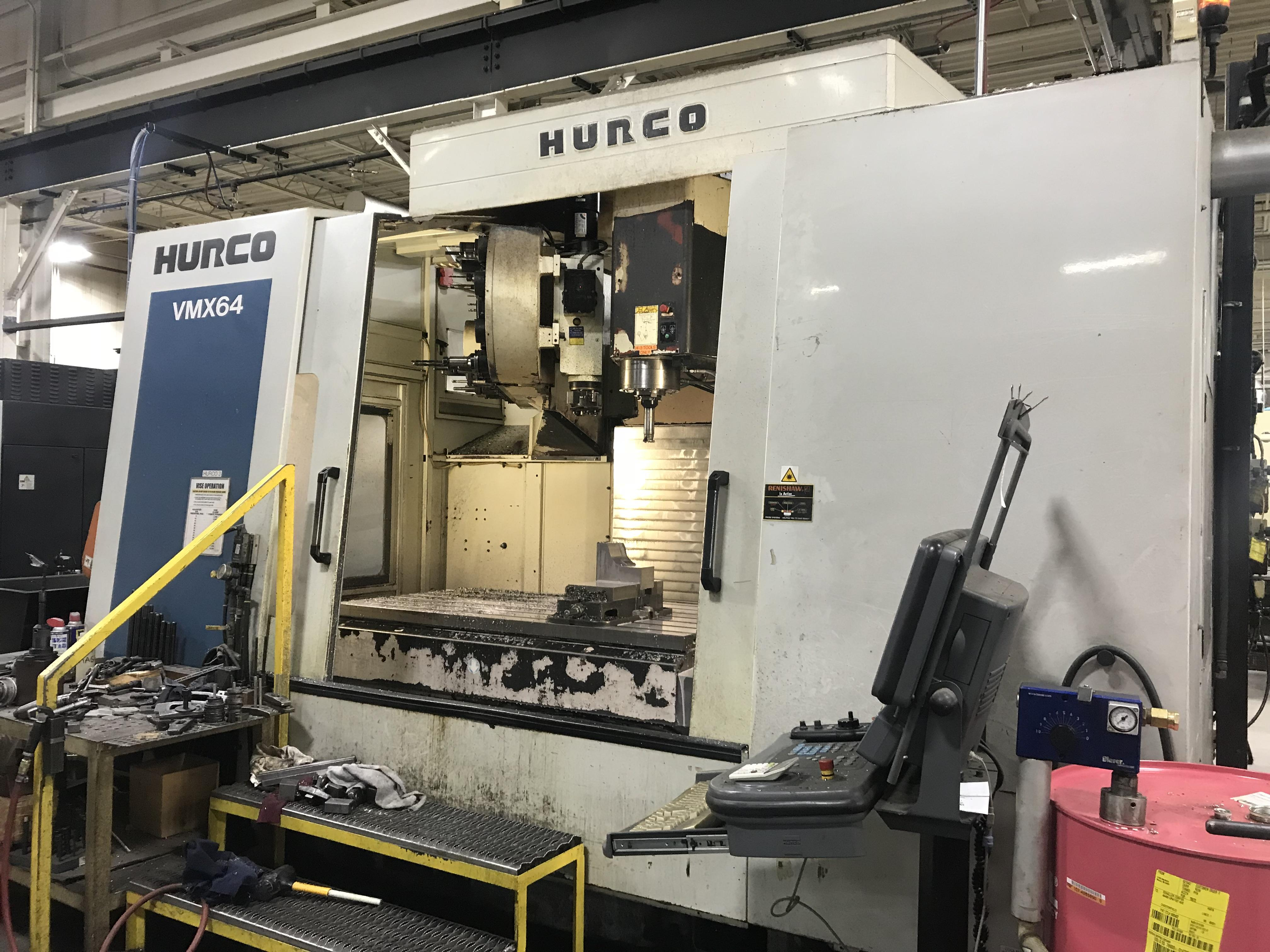 Hurco VMX64/50T CNC Vertical Machining Center, WinMax CNC, 64