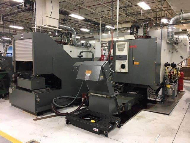2014 Twin Pallet, Twin Spindle Chiron DZ15K Vertical Machining Center