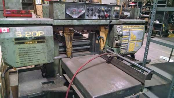 "13"" HYDMECH Model #S-20P Mitering Horizontal Band Saw"