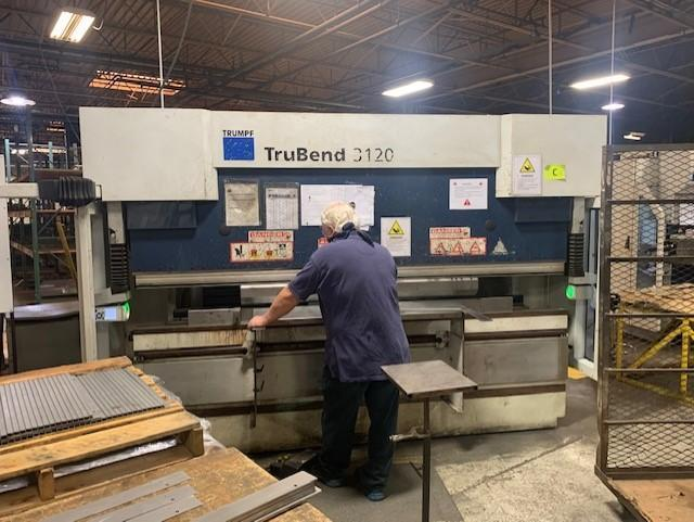 2011 Trumpf TruBend 3120, 10' x 132 Ton CNC Hydraulic Press Brake
