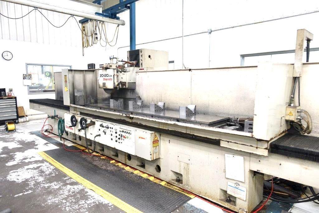 Okamoto ACC-20-120DX Horizontal Surface Grinder 2000
