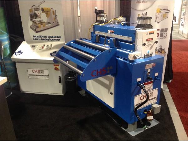 "(NEW MACHINE) CHS Automation Servo Roll Feed (Cabinet Base Mounted) 36"" Wide x .125"""