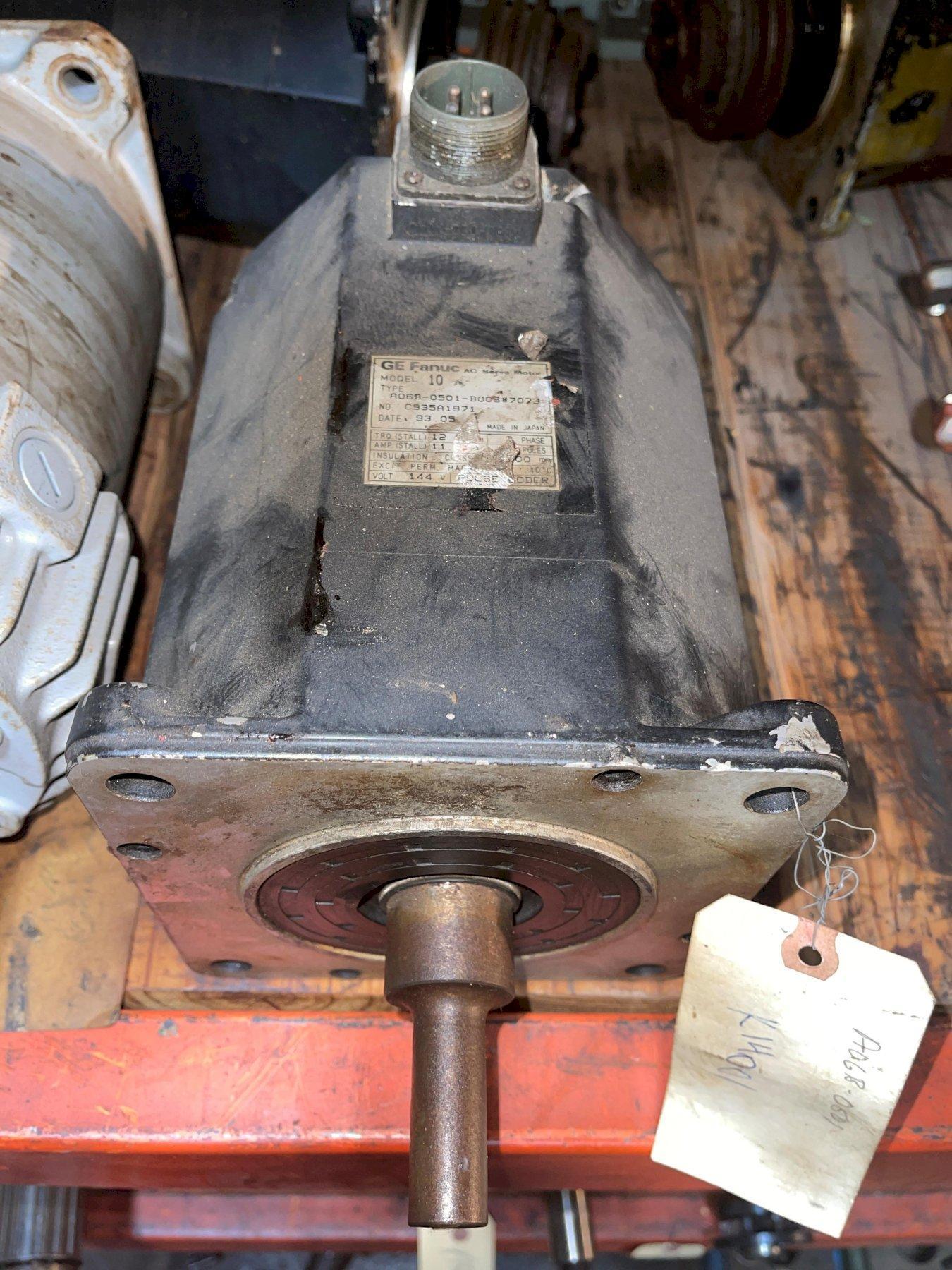 Fanuc Axis Servo Motor, MODEL 10, A06B-0501-B006#7073