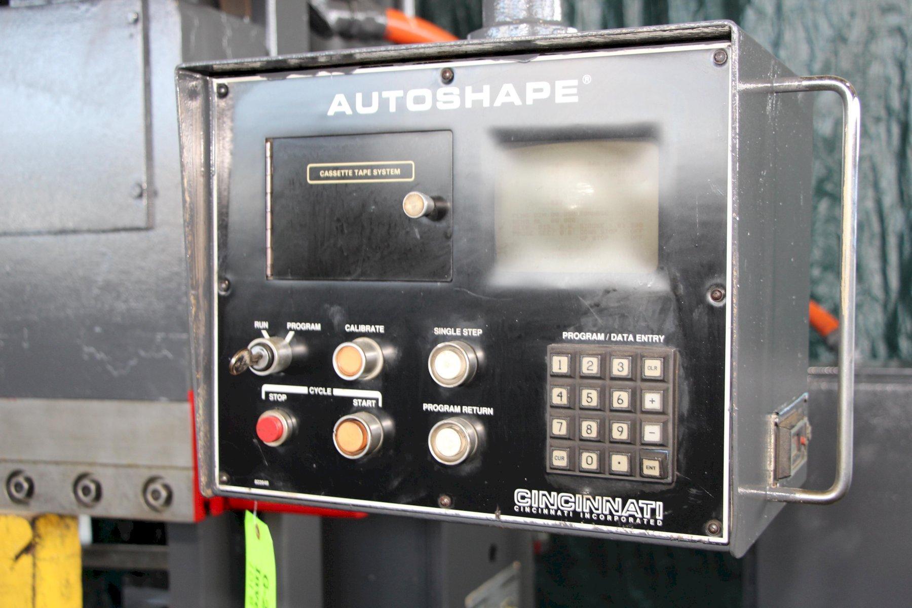 175 Ton x 10' Cincinnati CNC Autoshape AS175-8 Hydraulic Press Brake