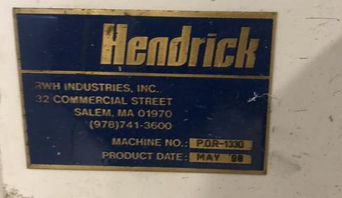 Hendricks Patriot SRP 3200 x 3200 CNC Panel Saw