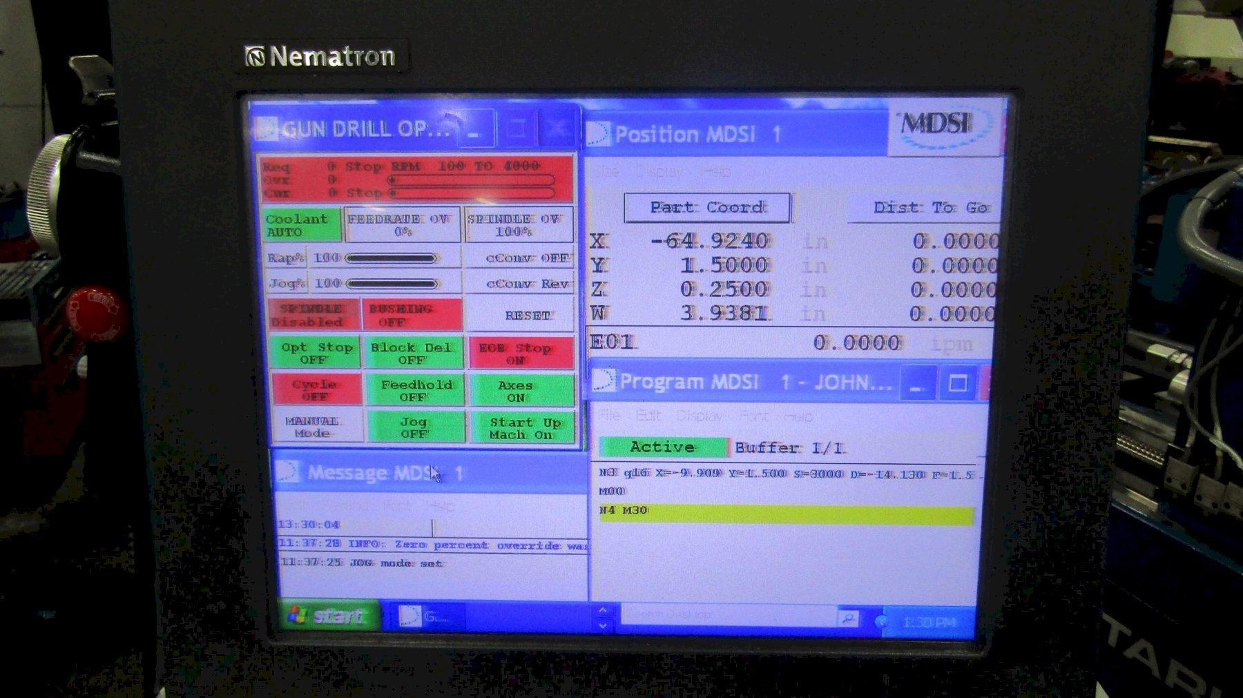 Tarus TPEXHGD 412 Horizontal CNC Gundrill