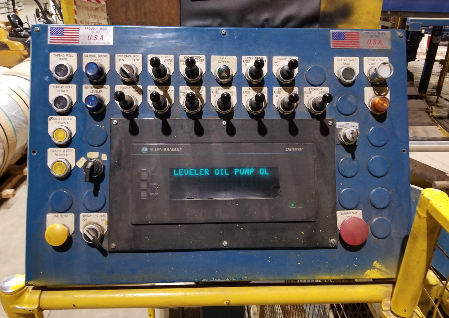 """96"""" x .250"""" Automatic Feed 4-HI Corrective Leveler"""