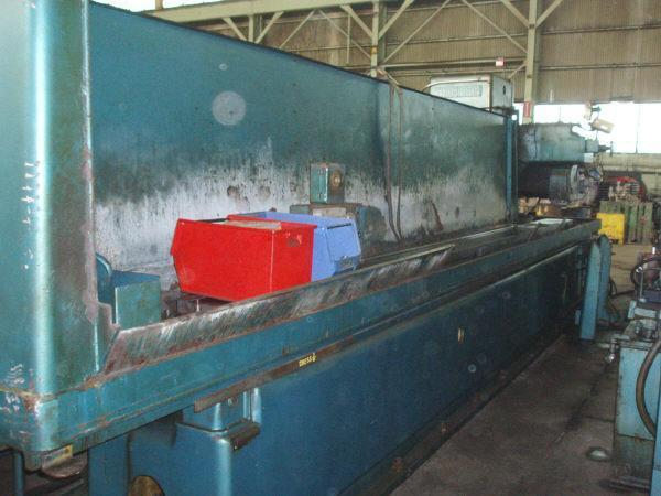 20' x 240' THOMPSON MODEL CH HORIZONTAL SURFACE GRINDER: STOCK #50560