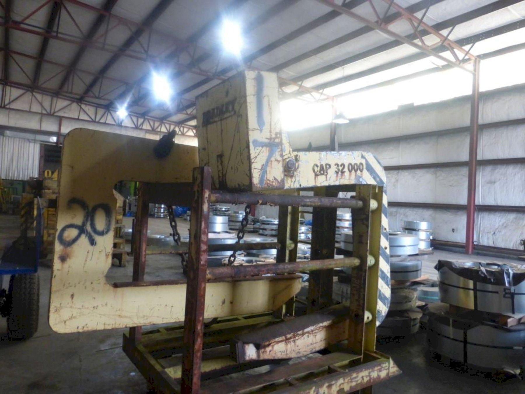 "32,000 LB X 38"" COIL LIFTER: STOCK 13229"