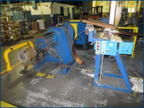 """13-1/4"""" THERMAL BASICS COPPER AND BRASS STRIP ANNEALING LINE   Our stock number: 113621"""