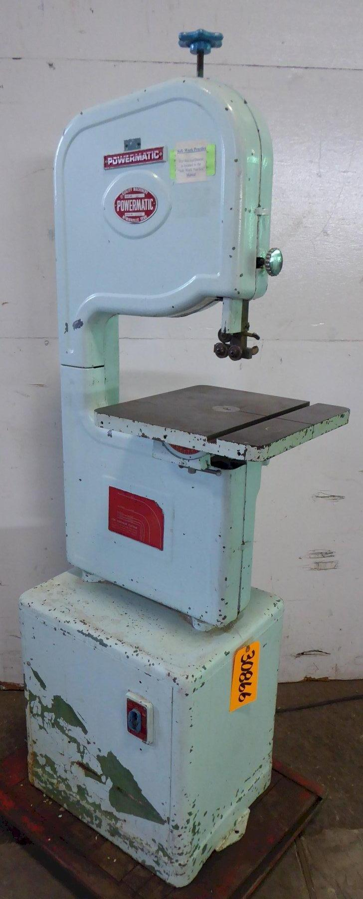 14″ Powermatic Vertical Band Saw No. 141