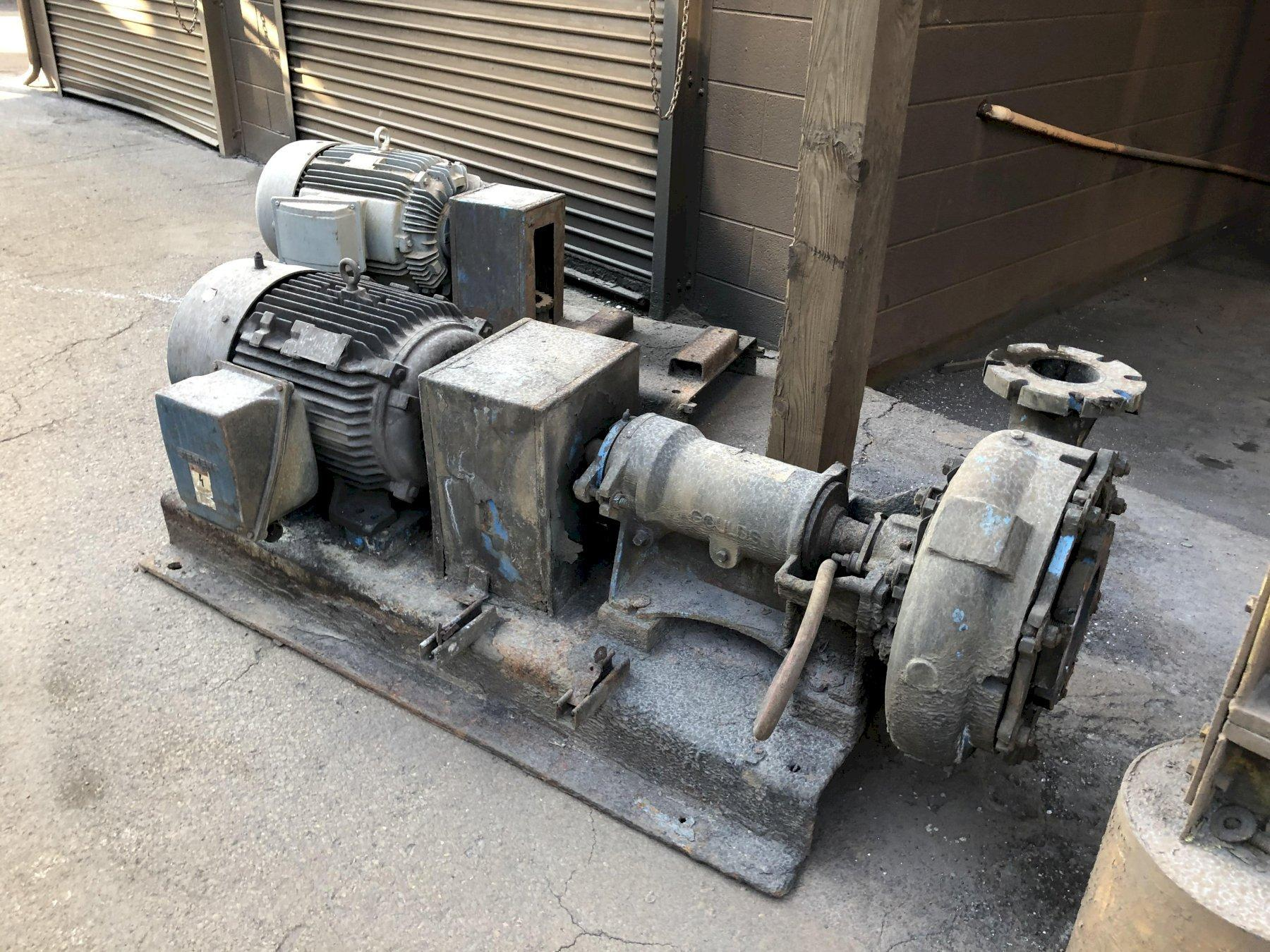 4- 50hp motors and Gould pumps priced each