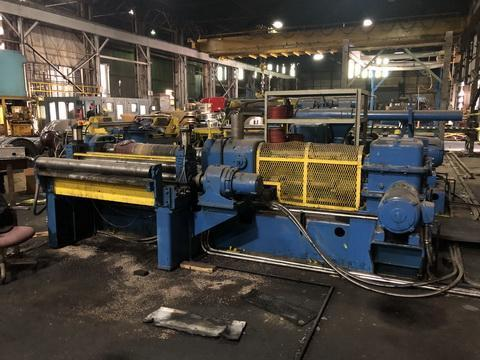 """48"""" x .100"""" x 25,000# Stamco Slitter with Banding Line"""