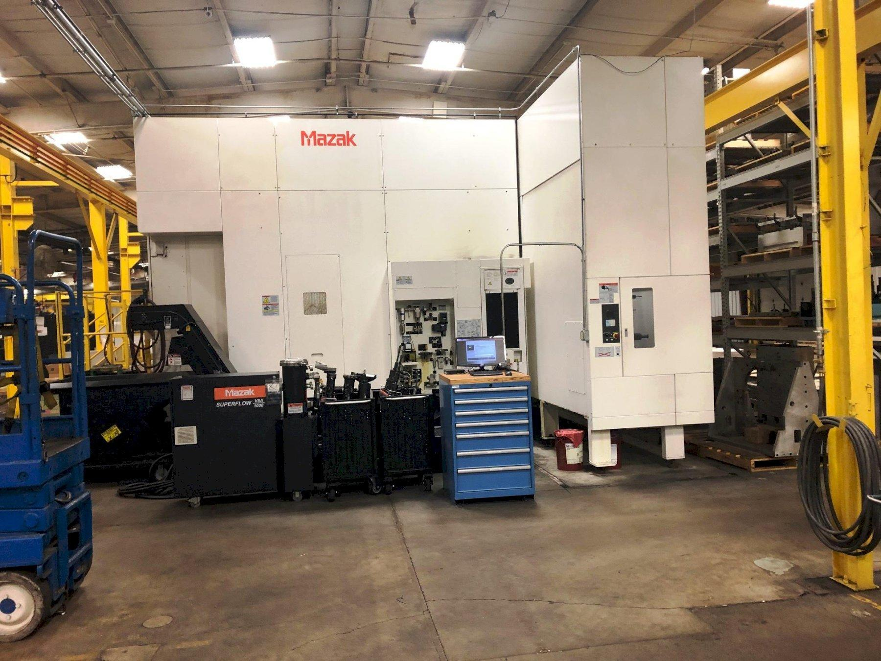 MAZAK HCN 12800 HORIZONTAL MACHINING CENTER