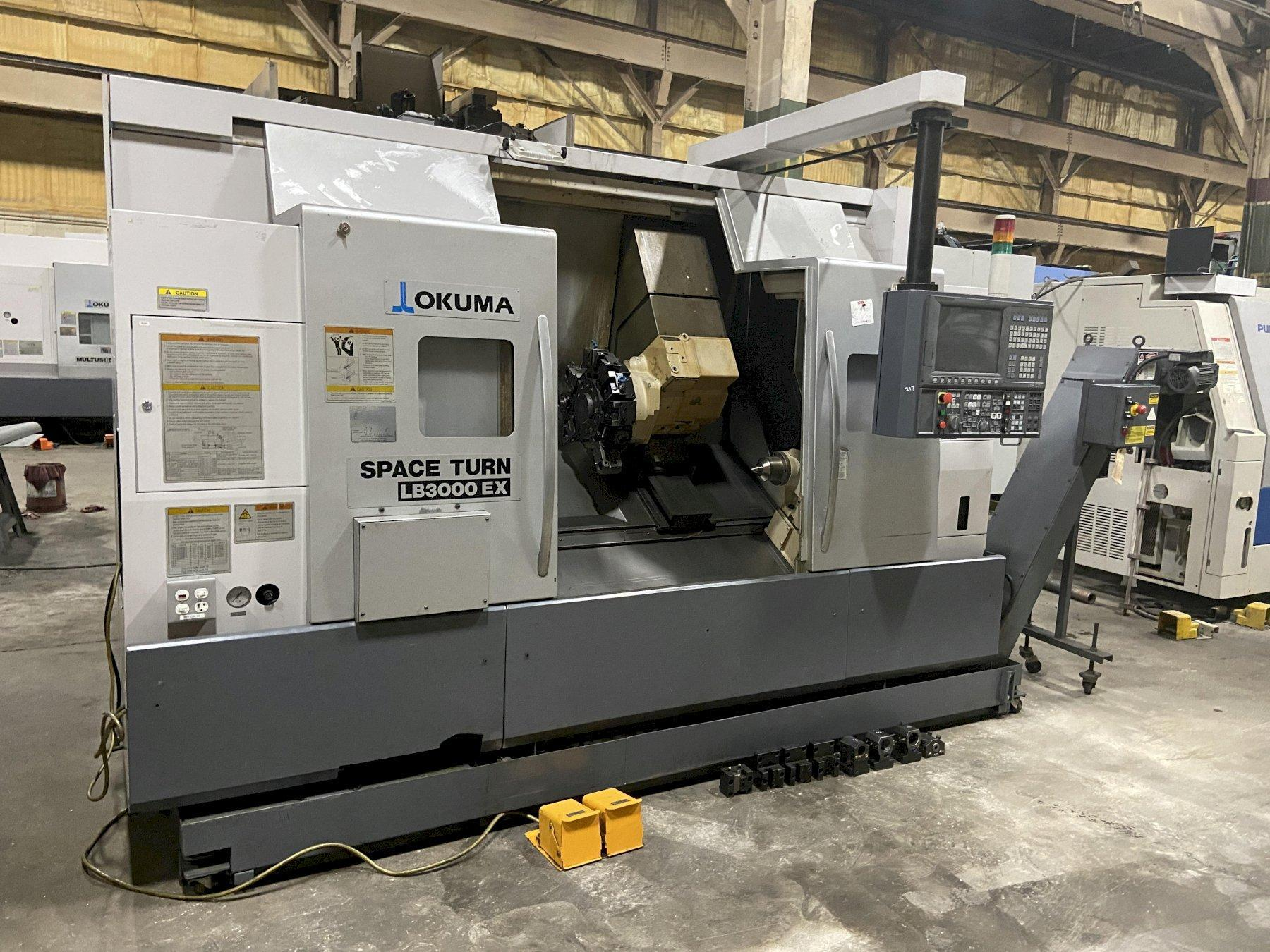 "Okuma LB3000-EX MY ""Spaceturn"" CNC Turning Center with Y axis and Milling"