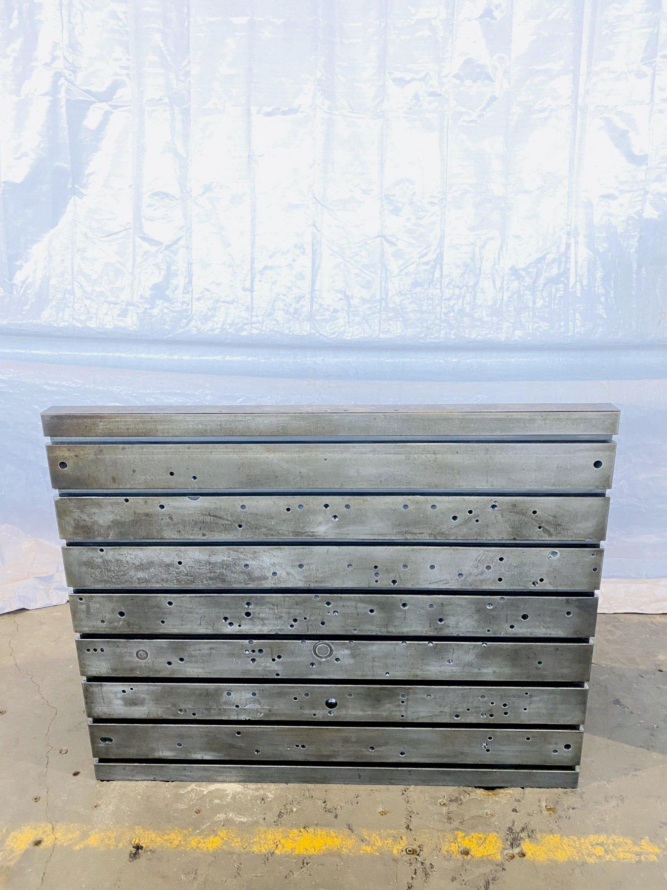 """48"""" T x 60"""" L x 26"""" D T SLOTTED ANGLE PLATE. STOCK # 0506920"""