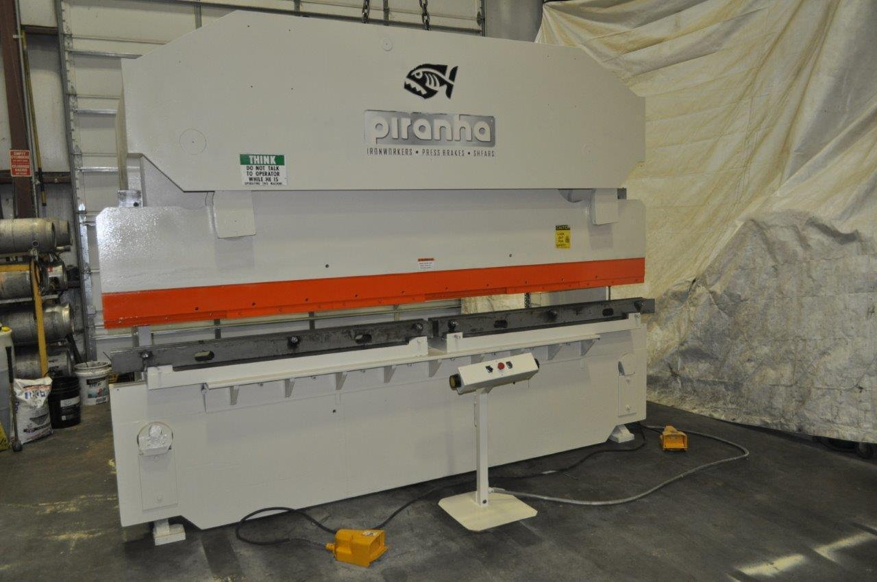 "175 Ton x 12"" Piranah Hydraulic Press Brake"