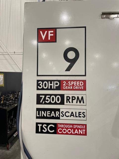 2005 Haas VF-9/50 Vertical Machining Center