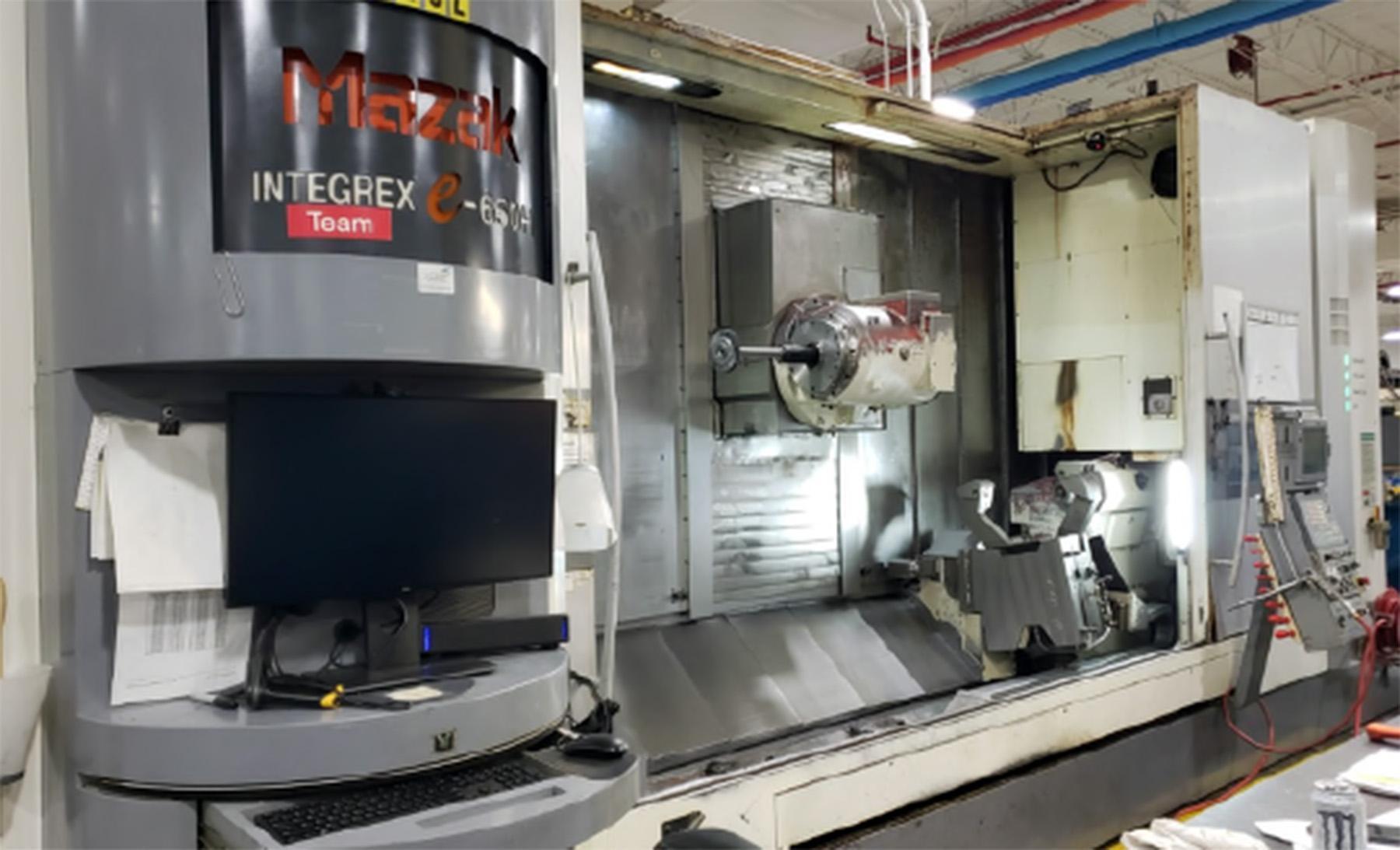 USED, MAZAK INTEGREX E650H CNC LATHE