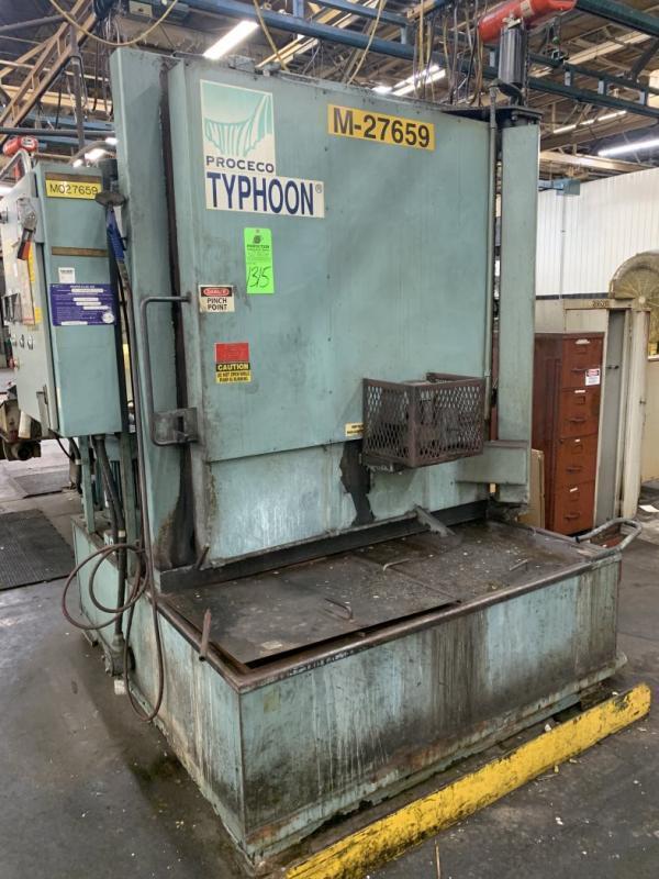Proceco HD 42x48E, 2500-BO Electric Parts Washer