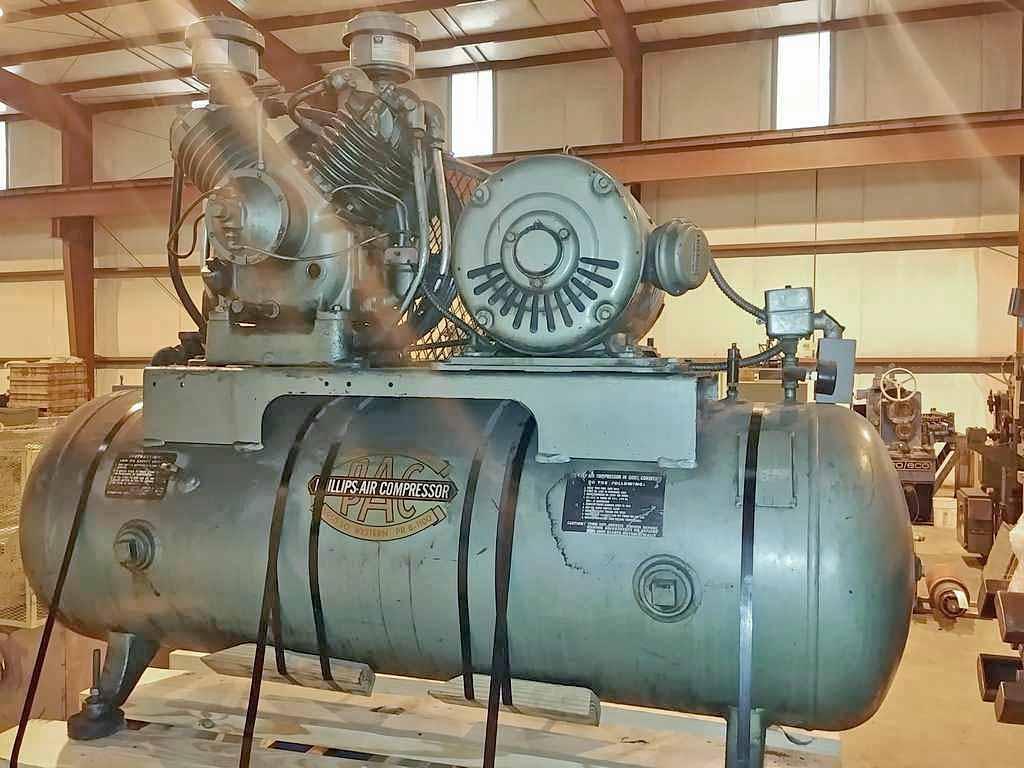Air Compressor, Phillips Air Compressor STOCK #2771