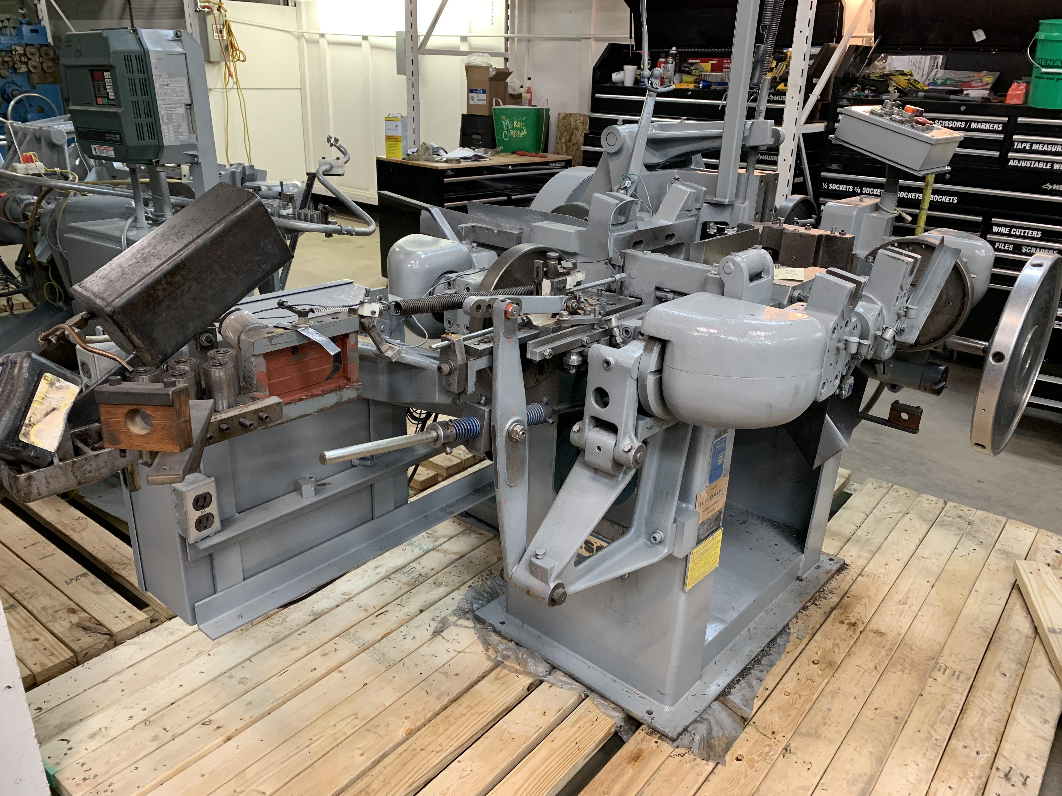 S2F NILSON FOUR SLIDE WIRE FORMING MACHINE: STOCK 10084
