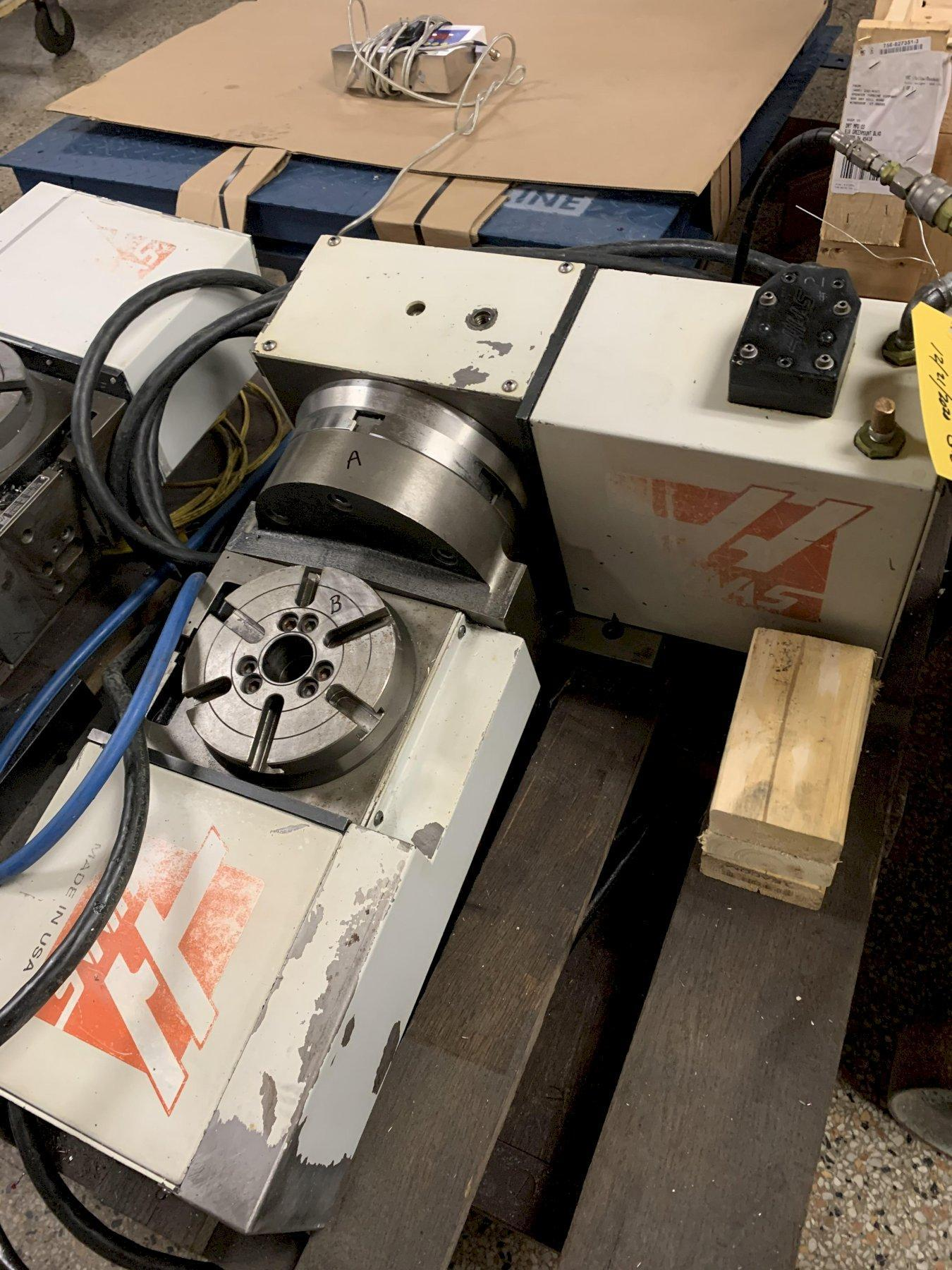 Haas TRT-160 4th & 5th Axis Rotary Table