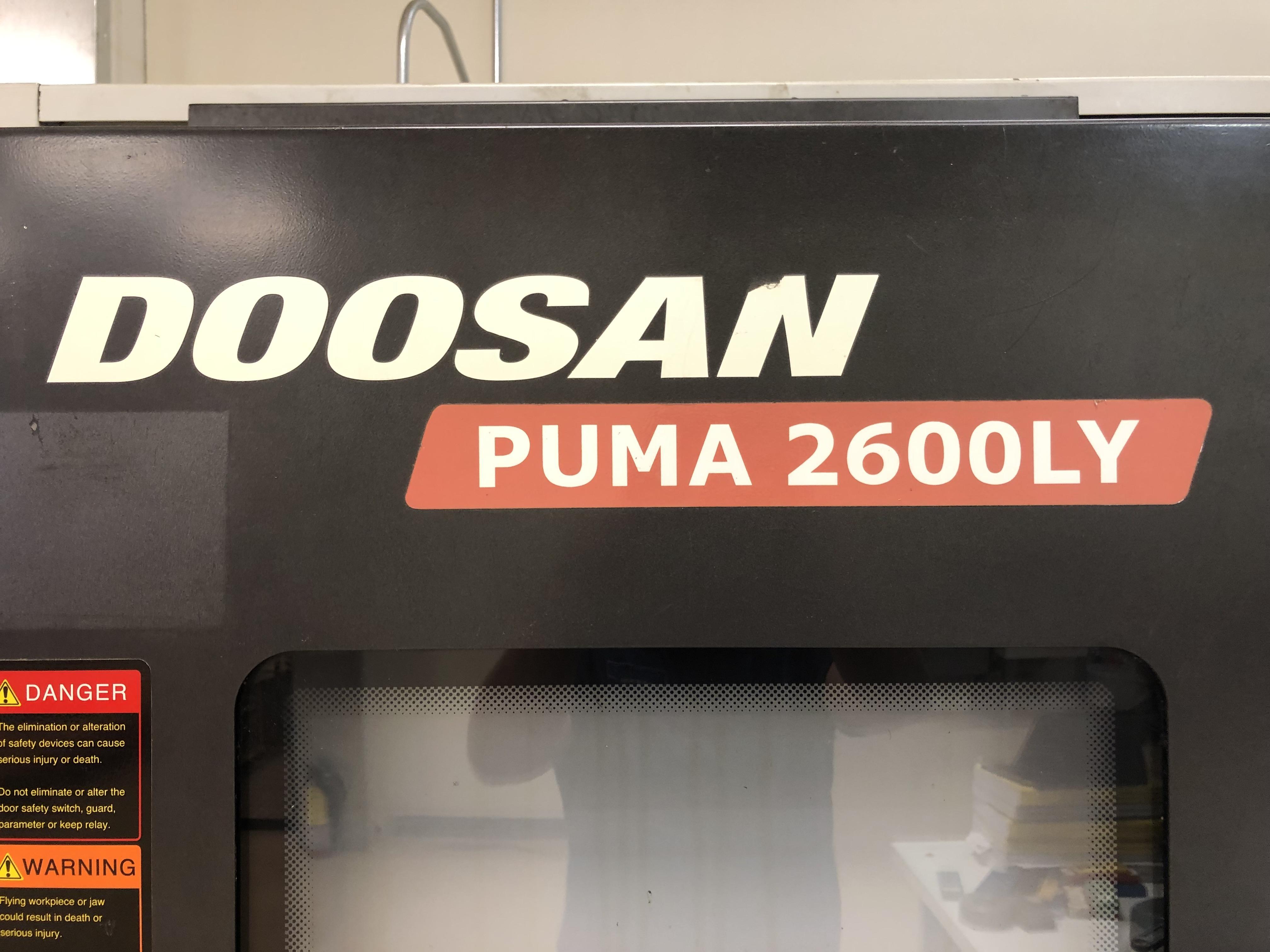 2012 DOOSAN Puma 2600LY - CNC Horizontal Lathe