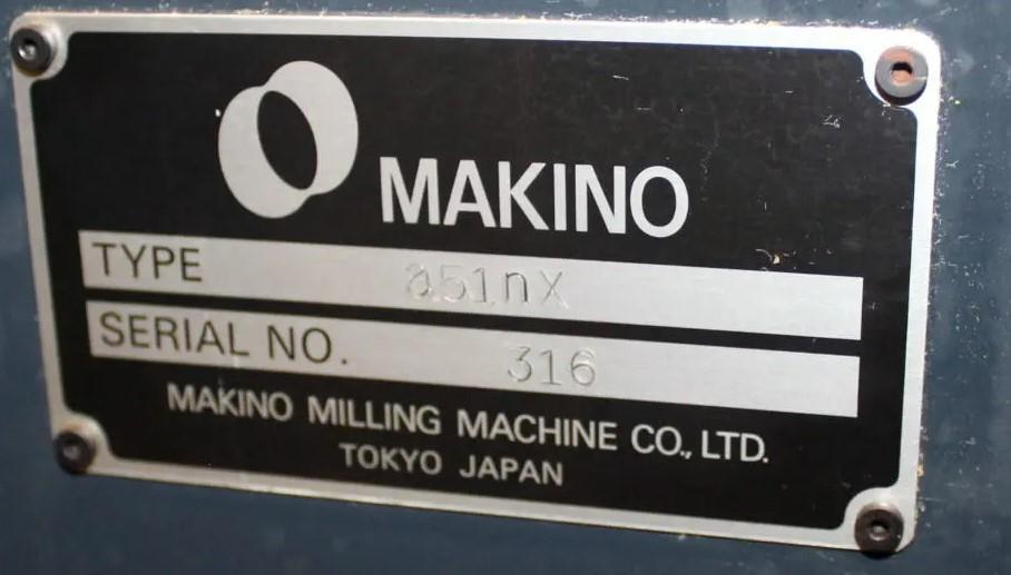 2014 Makino a51NX CNC Horizontal Machining Center