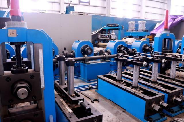 219mm x 8mm Stainless Tube Production Line NEW Never Installed