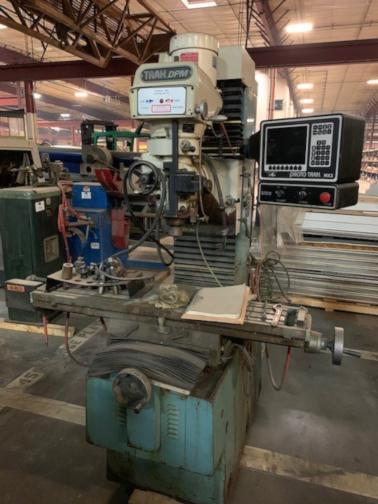 (1) PREOWNED SOUTHWESTERN IND. CNC VERTICAL MILLING MACHINE, MODEL #: TRAK-DPM, S/N: 95-2084, YEAR: 1995