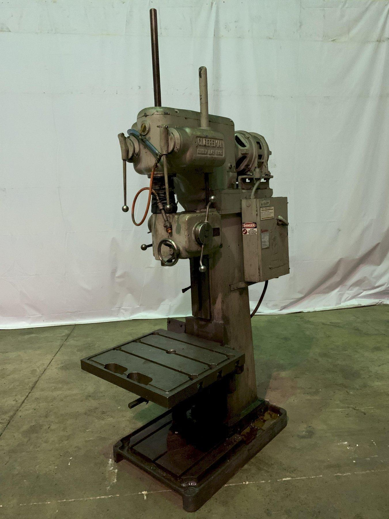 "24"" CLEEREMAN MODEL 25A-A4906 SINGLE SPINDLE VERTICAL DRILL: STOCK #11436"