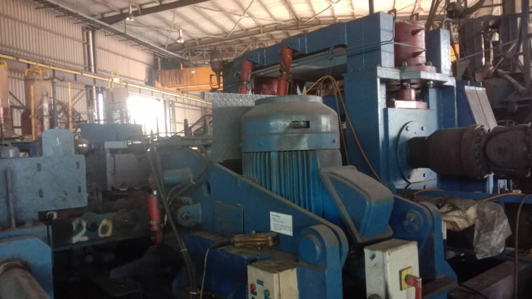 3000mm x 25mm ABTech API Spiral Pipe Mill Line Model SRU 1800- New 2010