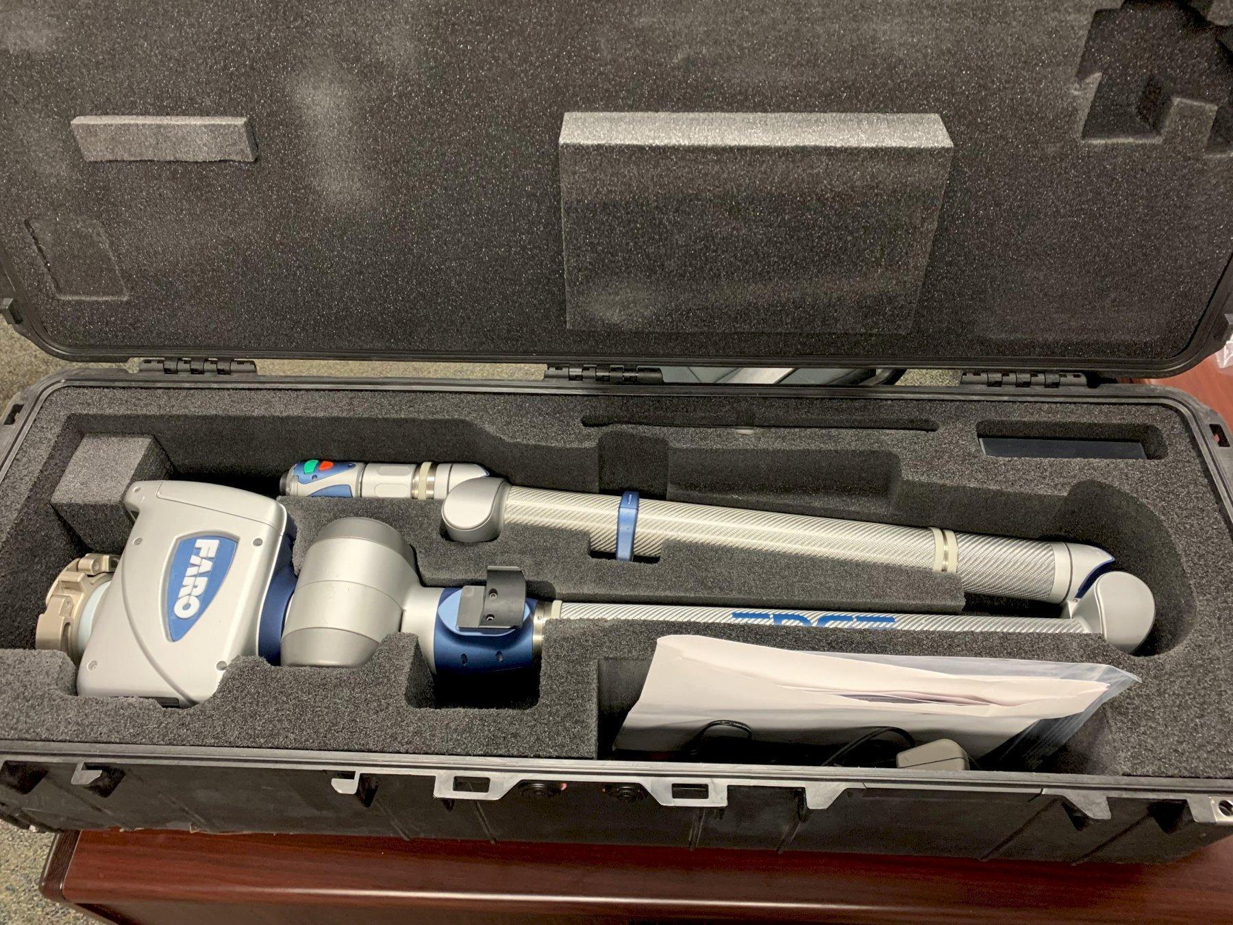 Faro Edge Portable CMM with Laser Probe, S/N E09-05-16-14419.