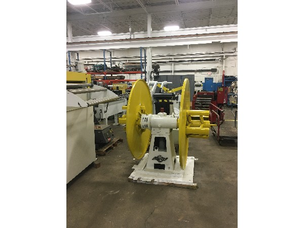 LITTELL Pull Off Double End Coil Reel Uncoiler 4,000 Lbs.