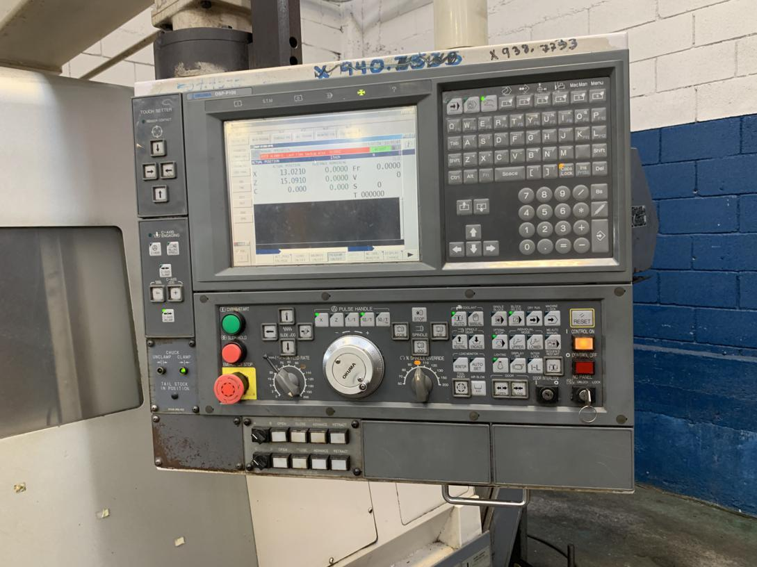 2005 Okuma Captain  L470M/1250 Big Bore CNC Lathe