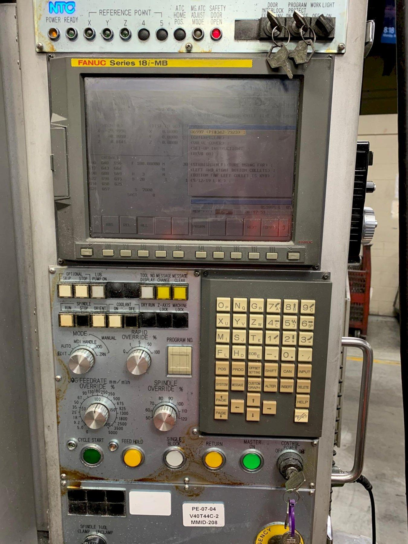 NTC ZV5400 CNC Vertical Machining Center
