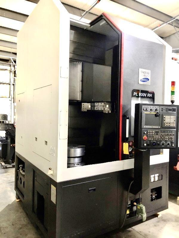 SAMSUNG PL800V CNC VERTICAL TURNING CENTER 2016