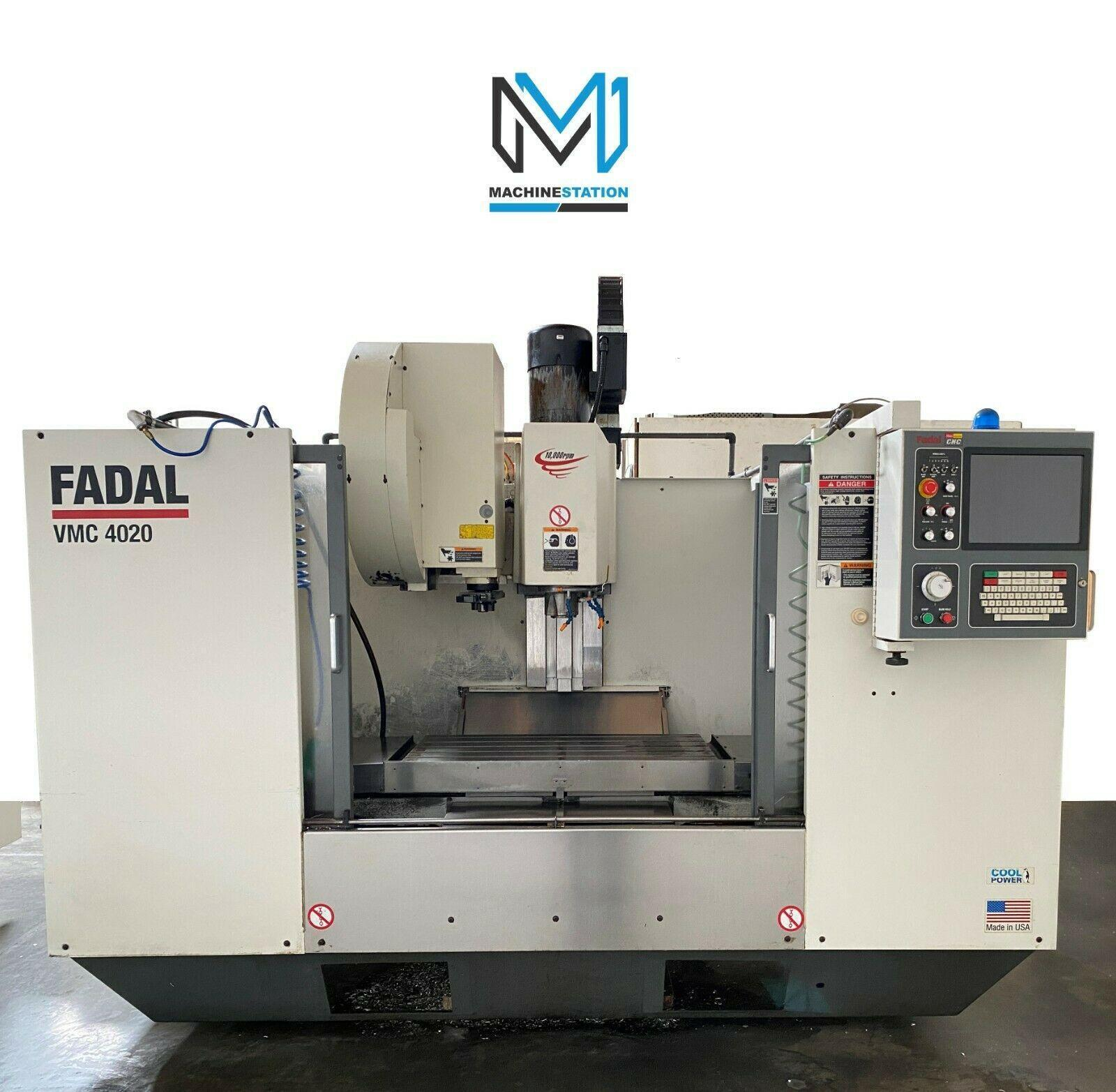 FADAL VMC 4020 CNC VERTICAL MACHINING CENTER