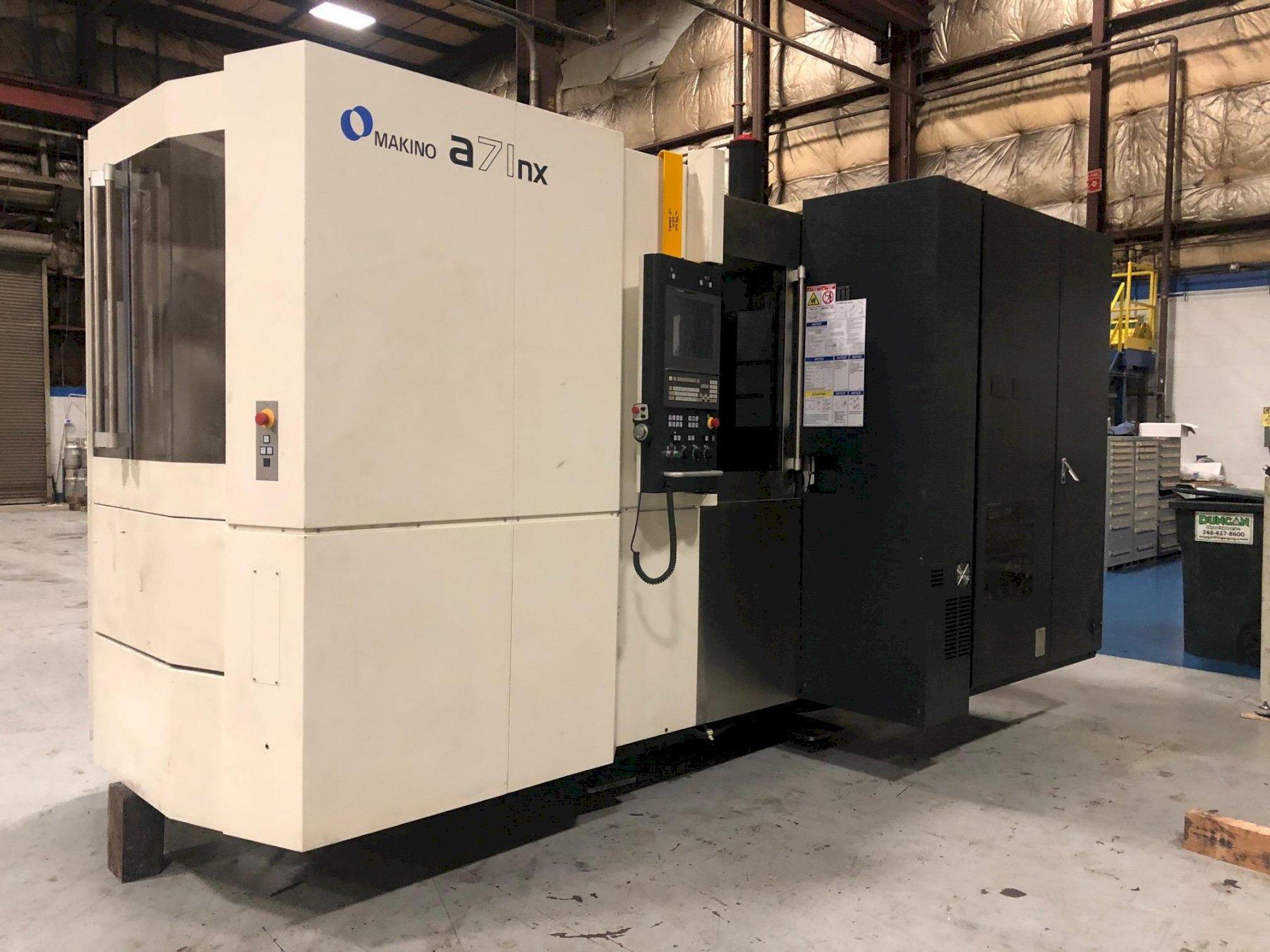 Makino a71NX CNC Horizontal Machining Center - 2019