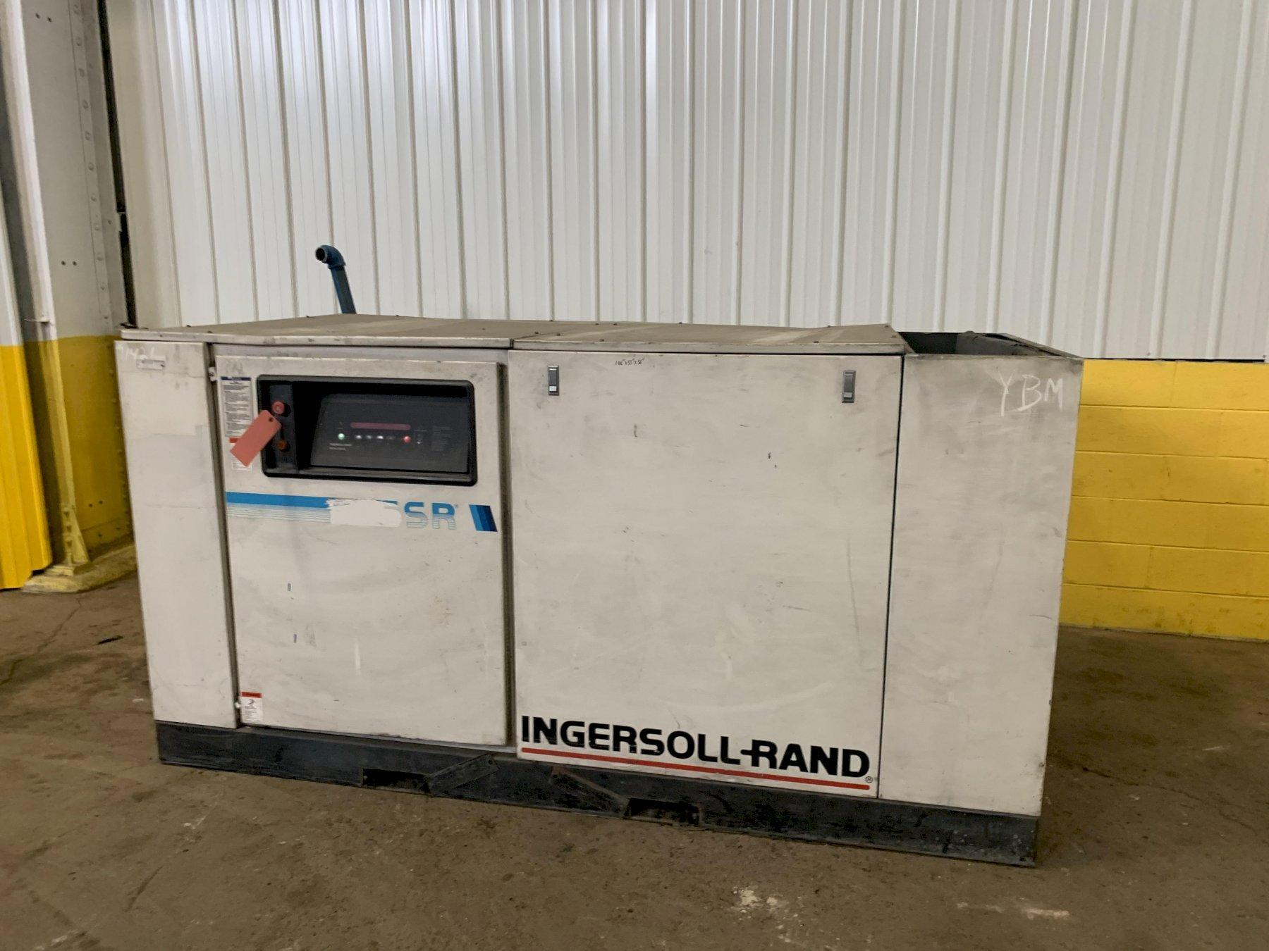 75 HP INGRESOLL RAND MODEL SSR-EP75 AIR COMPRESSOR STOCK:13625