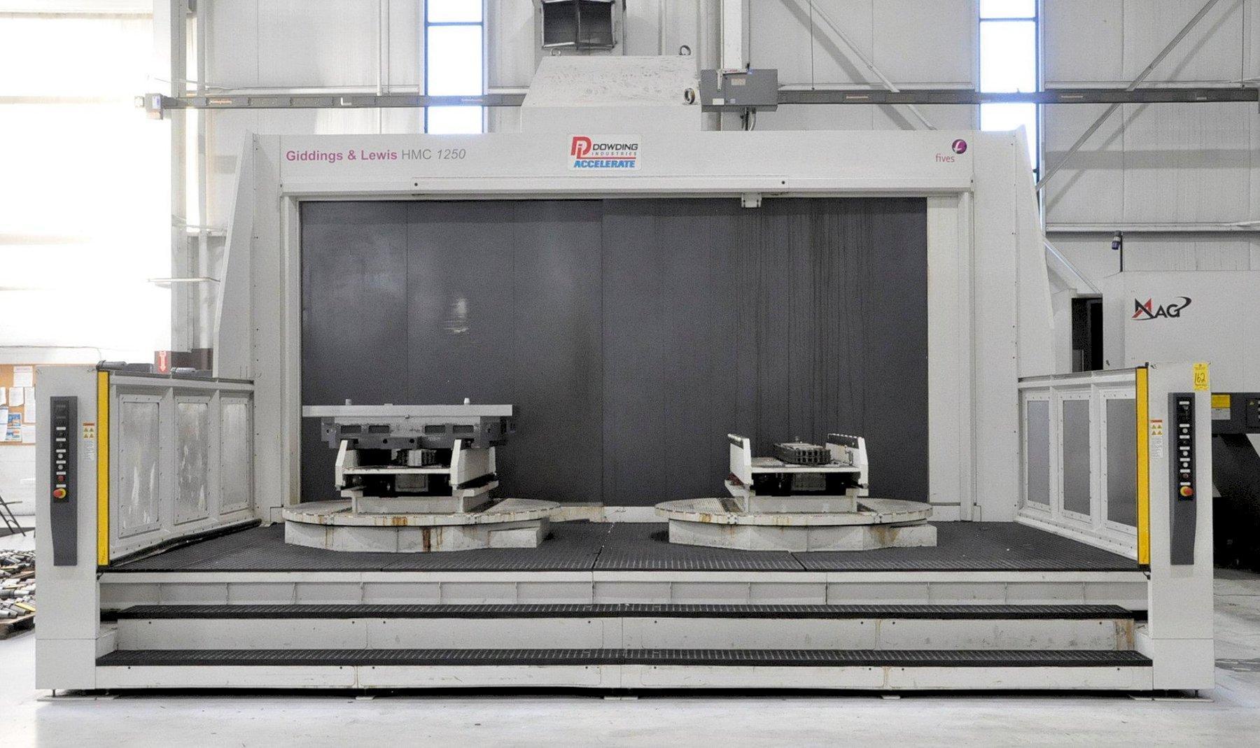 Giddings & Lewis HMC-1250 4-Axis CNC Horizontal Machining Center